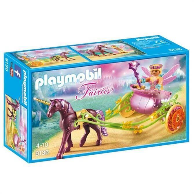 Playmobil Unicorn Drawn Fairy Carriage
