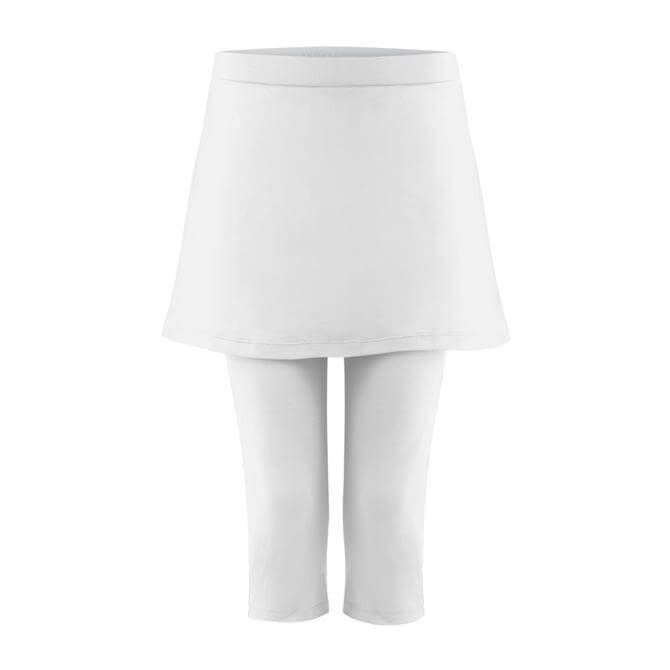Poivre Blanc Women's Tennis Skirt with Intergrated Capri Legging 19