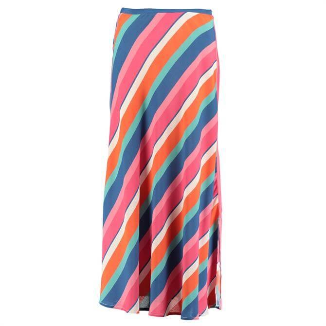 Pomodoro Candy Striped Skirt