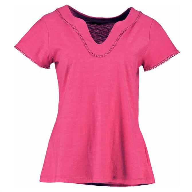 Pomodoro Notch Neck T-Shirt