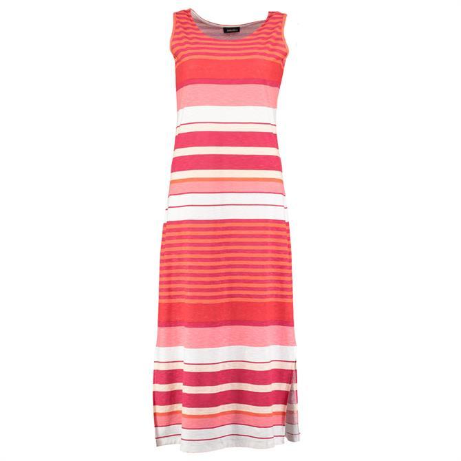 Pomodoro Multi Striped Maxi Dress