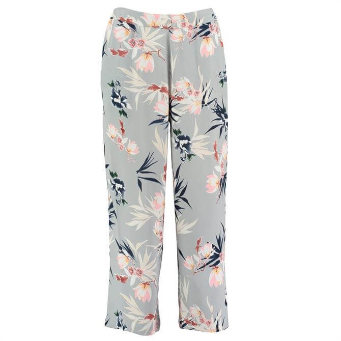Pomodoro Floral Print Trousers