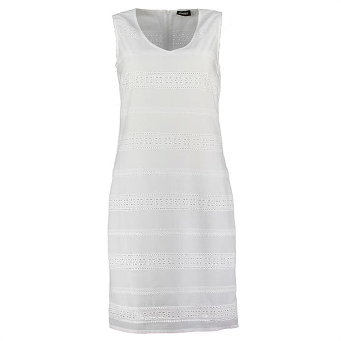 Pomodoro Broderie Anglaise Shift Dress