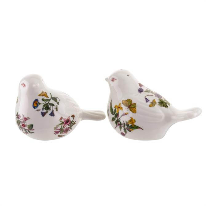 Portmeirion Botanic Garden Salt & Pepper Set: Bird