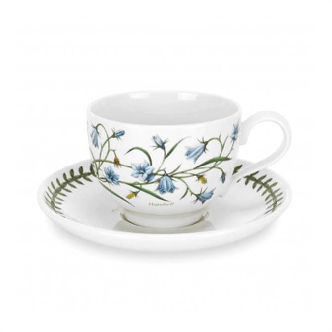 Portmeirion Botanic Garden Teacup & Saucer (Traditional Shape)