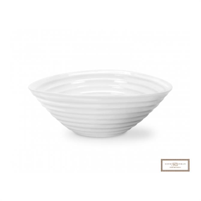 Sophie Conran For PortmeirionWhite Cereal Bowl: 19cm