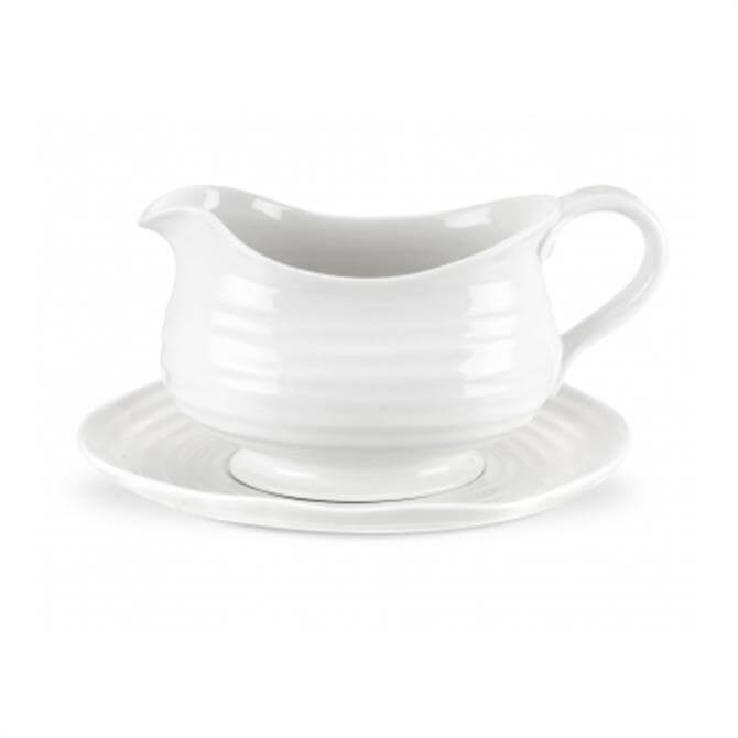 Sophie Conran For Portmeirion Gravy Boat & Stand