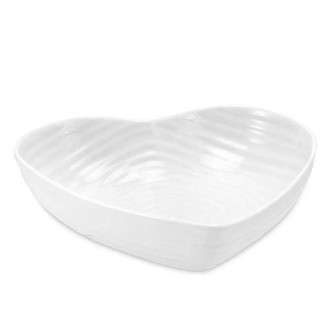Sophie Conran for Portmeirion White Medium Heart Bowl