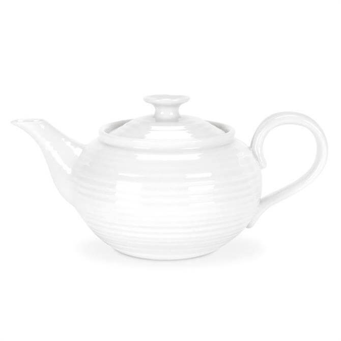 Sophie Conran for Portmeirion Small White Teapot: 1 Pint