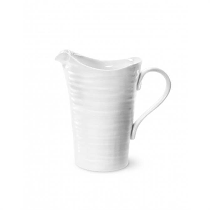 Sophie Conran For Portmeirion Small White Pitcher: 1/2 Pint