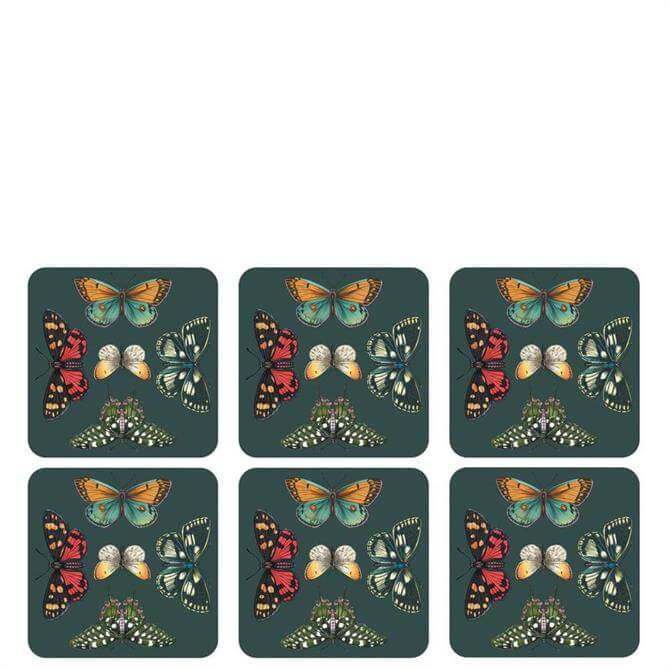 Portmeirion Botanic Garden Harmony Set of 6 Coasters