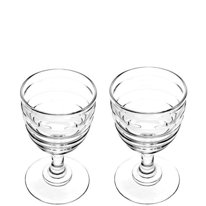 Sophie Conran for Portmeirion Set of 2 Large Wine Glasses