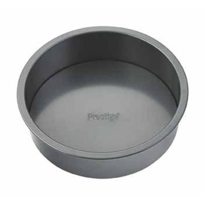 Prestige Loose Base Round Cake Tin: 8 Inch