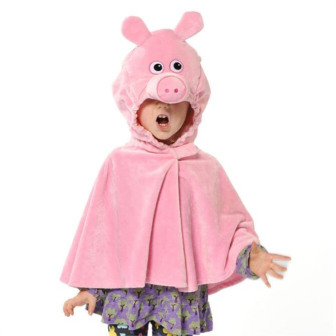 Pretend To Bee Pig Cape
