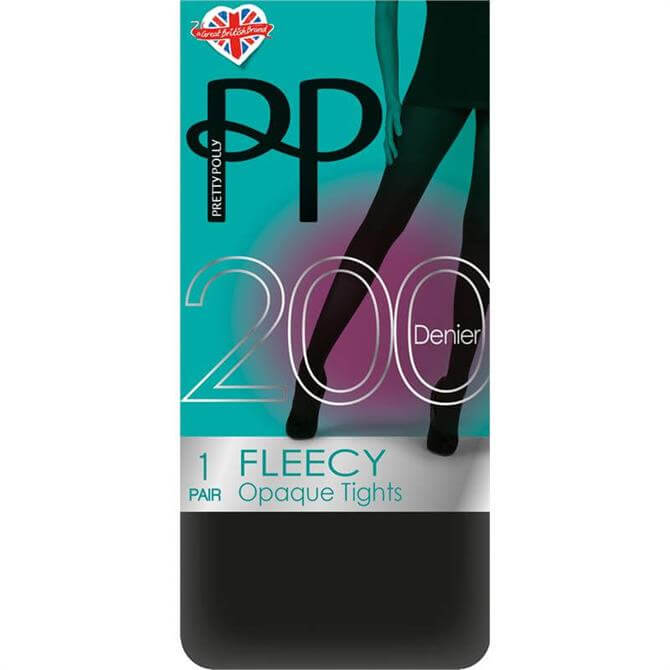 Pretty Polly 200 Denier Warm Fleecy Tights