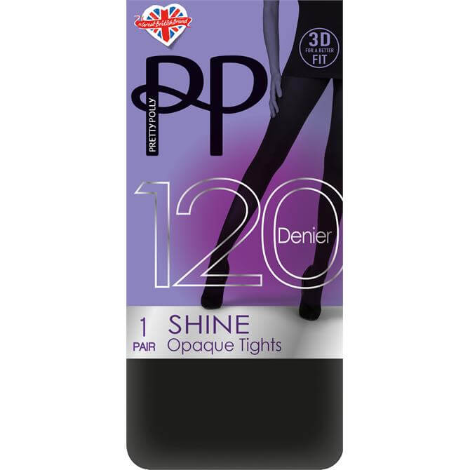 Pretty Polly 120 Denier 3D Shine Tights