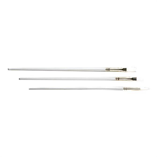 Pro Arte Sterling Acrylix Long Handled Brush Set W6