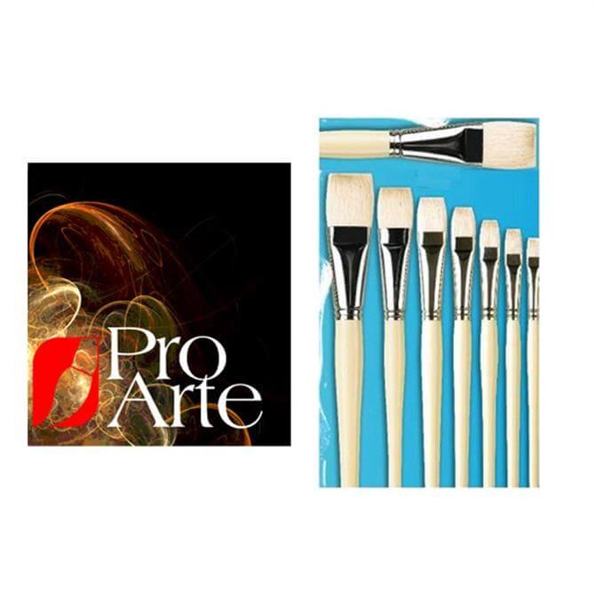 Pro Arte Finest Hog Short Flat Brush Series B