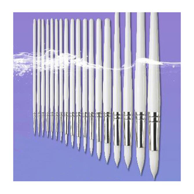 Pro Arte Polar White Nylon Round Brush