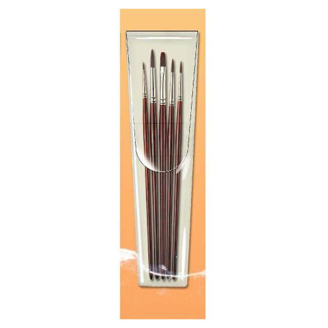 Pro Arte Acrylix Short Handle Brush Set