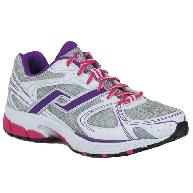Pro Touch Womens Chicago II - White Purple Pink