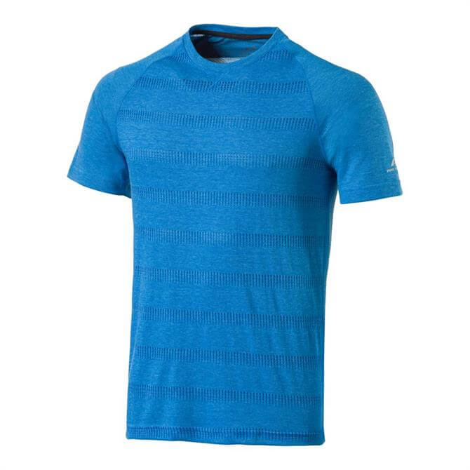 Pro-Touch Men's Afi UX Short Sleeve Fitness Top - Blue Royal
