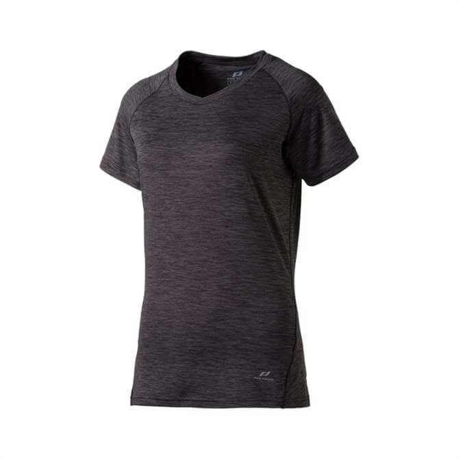 Pro Touch Women's Rylinda II T-Shirt- Melange Black