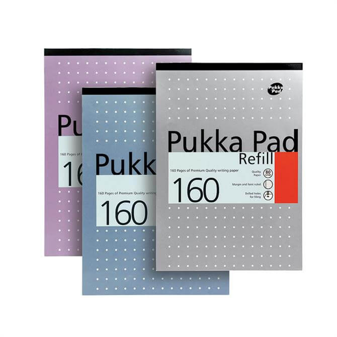 Pukka 160 Page A4 Refill Pad