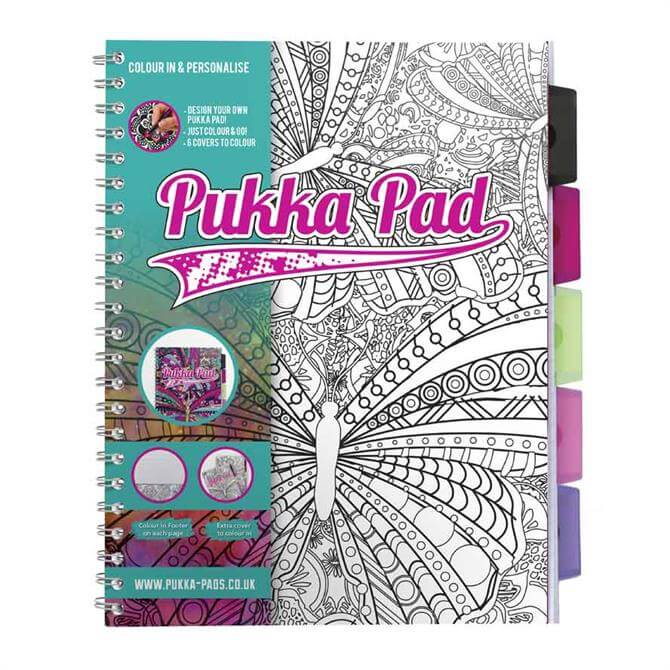 Pukka A4 Colouring Project Book