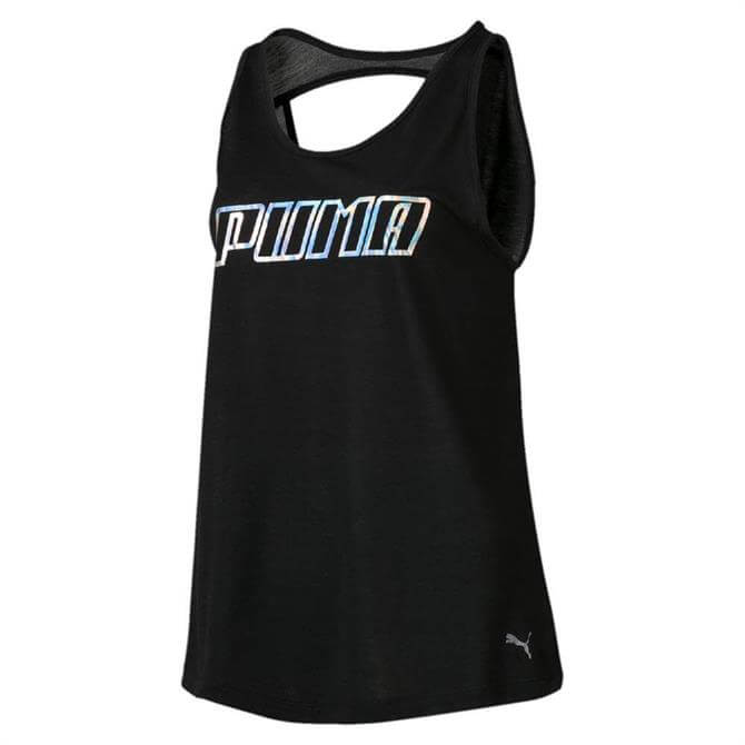 Puma Women's Own It Fitness Tank Top - Black