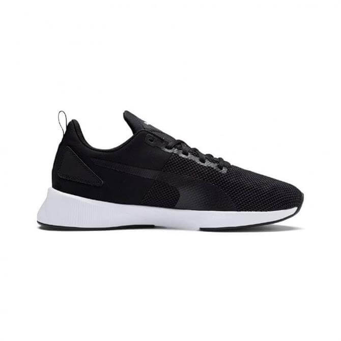 Puma Men's Flyer Running Shoes - Black/White