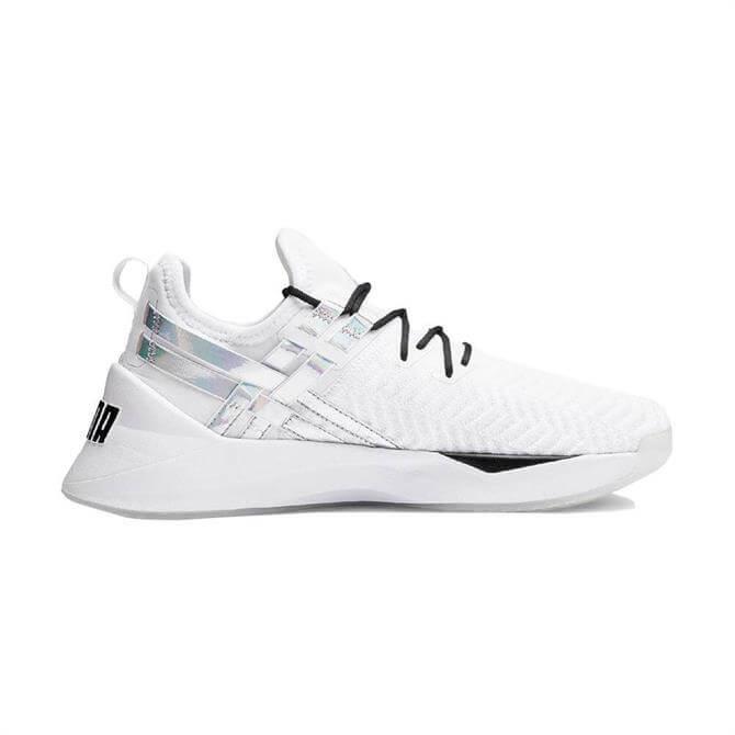 Puma Women's JAAB Iridescent TZ Fitness Shoes - White