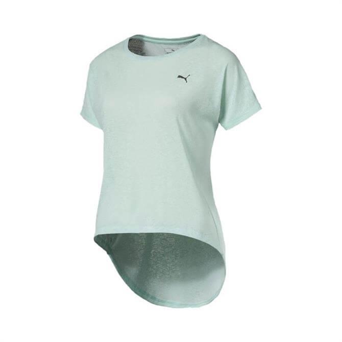 Puma Women's Bold Classic Fitness T-Shirt - Fair Aqua