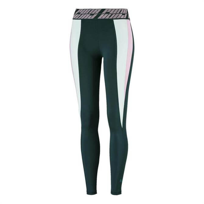 Puma Women's Own It Full Fitness Training Tights - Ponderosa Pine