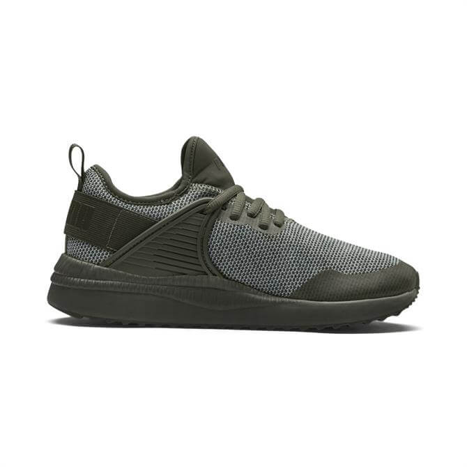 Puma Men's Pacer Next Cage Knit - Forest Night
