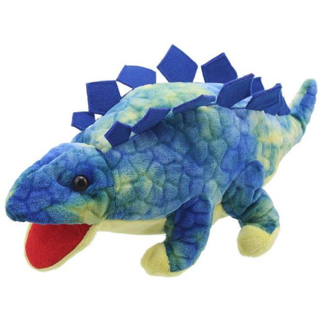 Puppet Company Stegosaurus Blue Baby Dinos