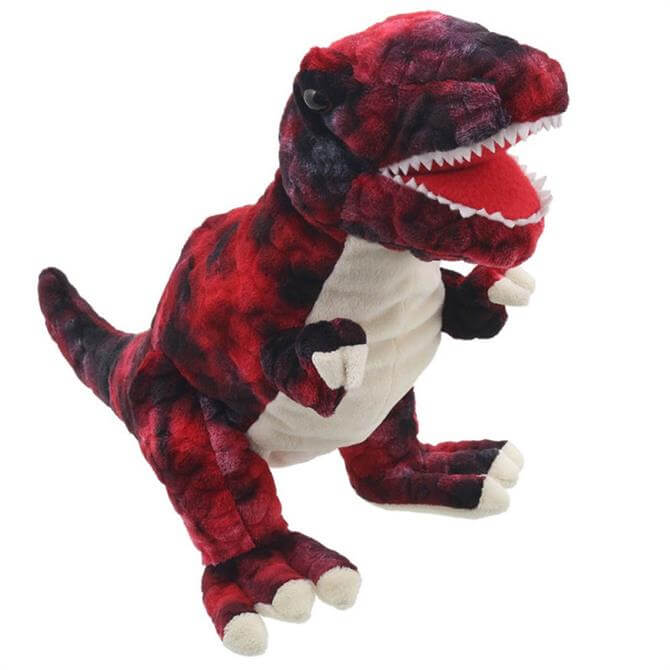 Puppet Company T-Rex Red Baby Dinosaur