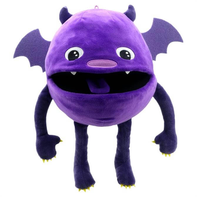 Puppet Company Purple Baby Monster