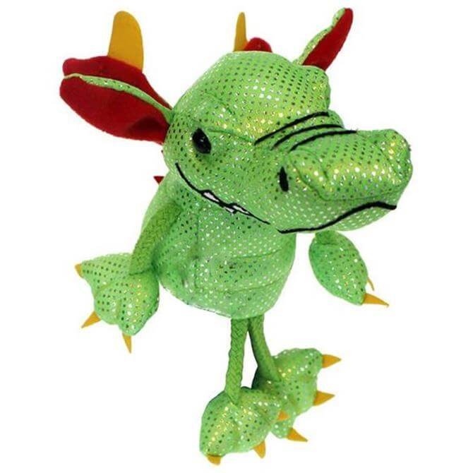 Puppet Company Green Dragon Finger Puppet