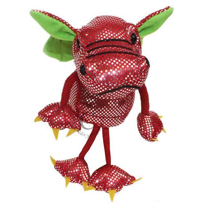 Puppet Company Red Dragon Finger Puppet
