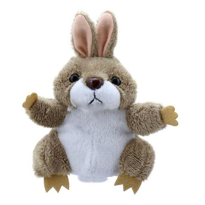 Puppet Company Grey Rabbit Finger Puppet