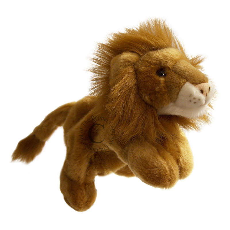 An image of Puppet Company Lion