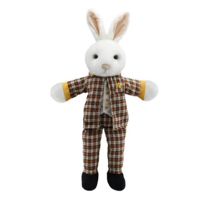 Puppet Company Dressed Mr Rabbit