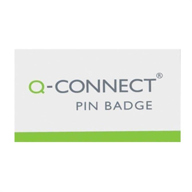 Q-Connect Pin Badge