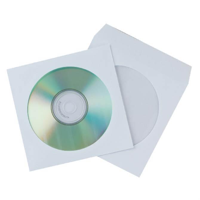 Q-Connect Paper CD Envelope - 50 Pack