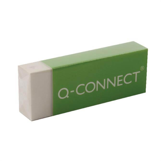 Q-Connect White PVC Eraser