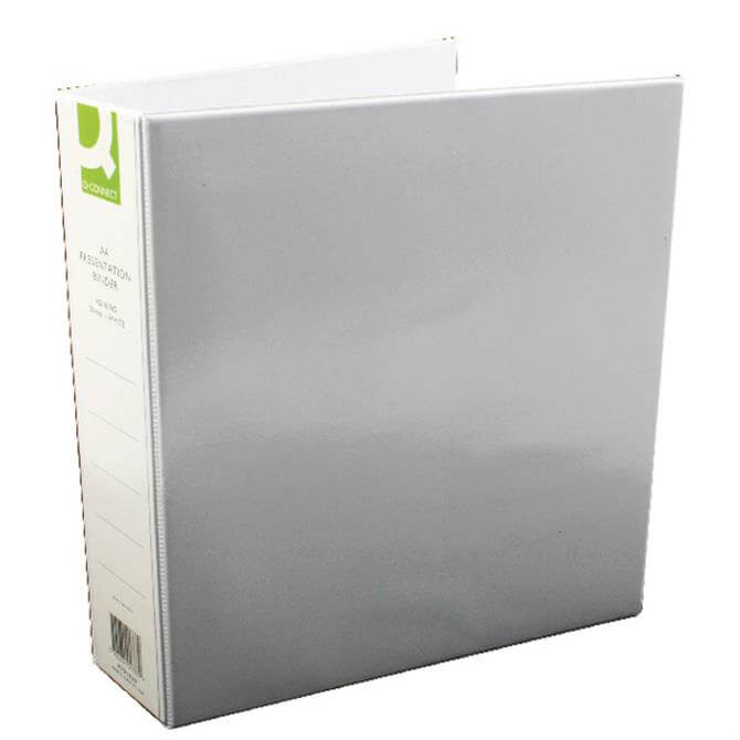 Q-Connect White Presentation File 50mm