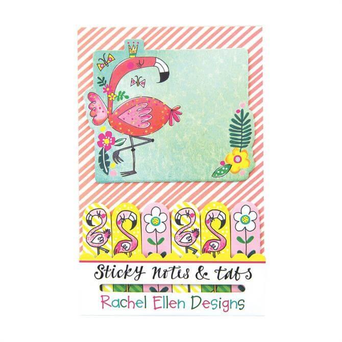 Rachel Ellen Flamingo Sticky Notes & Tabs