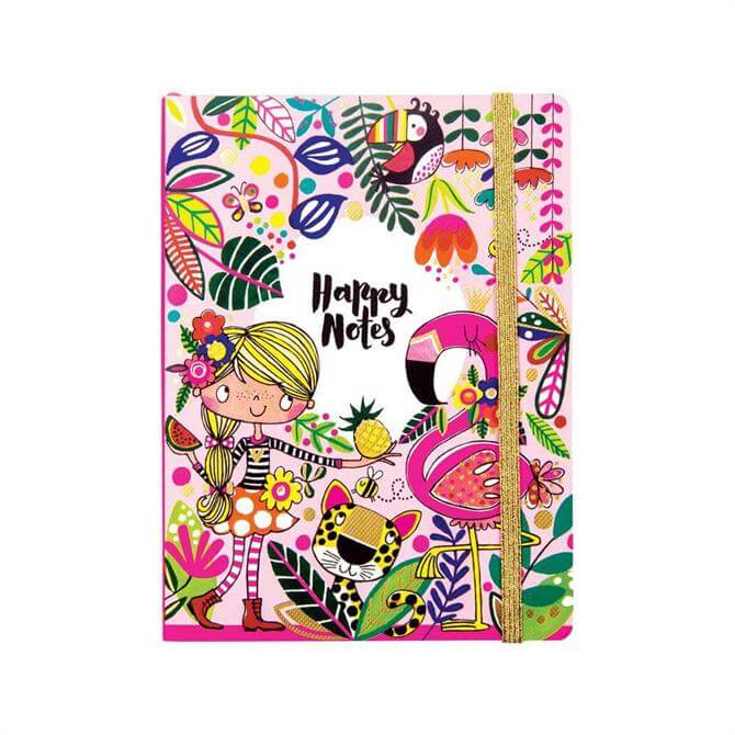 Rachel Ellen Happy Notes Chunky Notebook