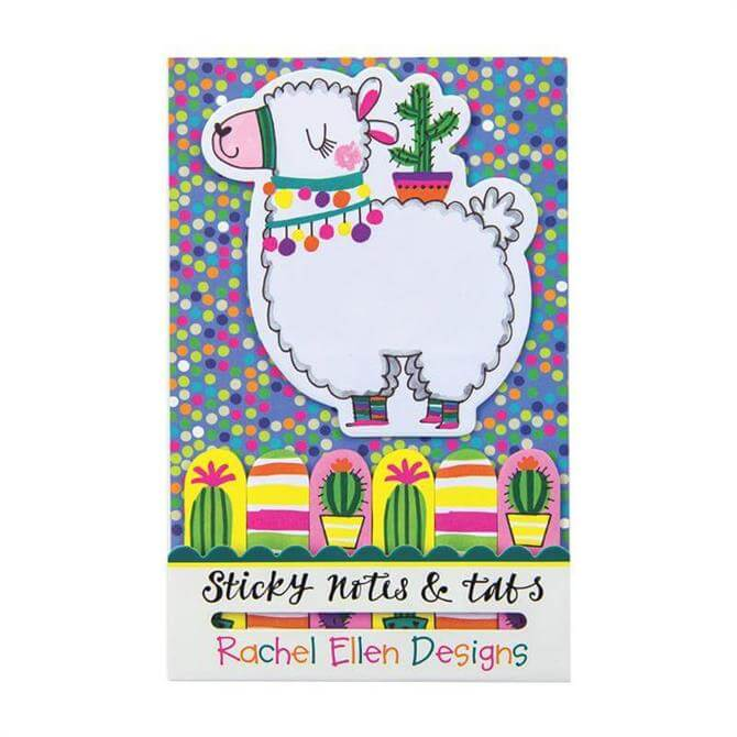 Rachel Ellen Llama Sticky Notes & Tabs